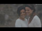 Lesbian Wedding: Angel & Monica ♀♥♀
