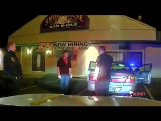 Жонглёр и полиция