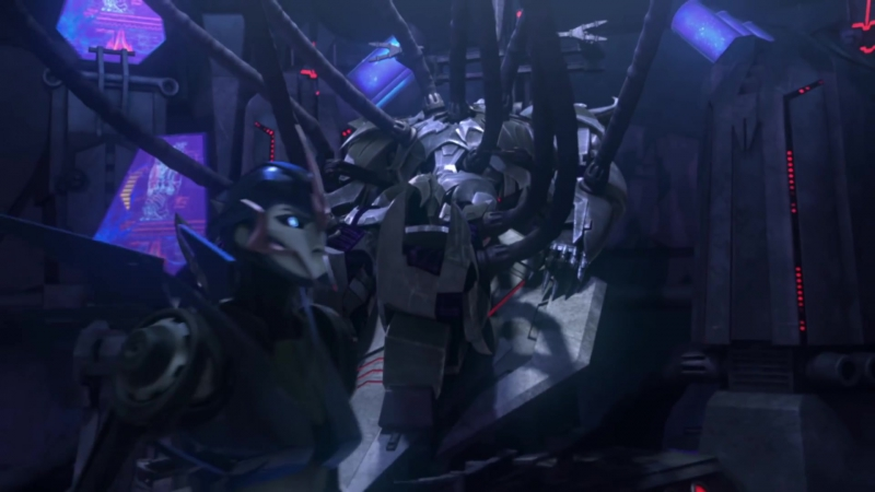 Трансформеры: Прайм — 1 Сезон 13 Серия «Игры разума» 1080p Full HD