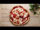 Homemade Pizza Margherita By Mario Batali