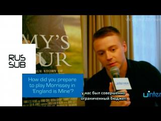 Джек Лауден говорит о сценарии к фильму «Англия моя» (русские субтитры)