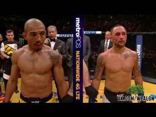 UFC 200- Jose Aldo - Octagon Interview [Русская озвучка от My Life is MMA]