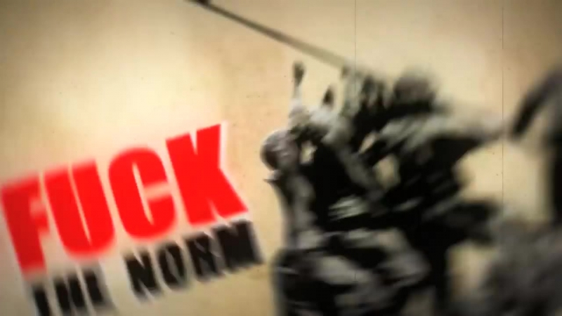 Rage Against The Machine - Know Your Enemy - Tipografia Cinética (HD) Kinect Typography