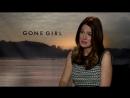 Исчезнувшая/Gone Girl (2014) Интервью с Гиллиан Флинн и Нилом Патрик Харрисом (русские субтитры)
