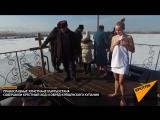Как в Кыргызстане ныряют в прорубь — кадры крещенских купаний