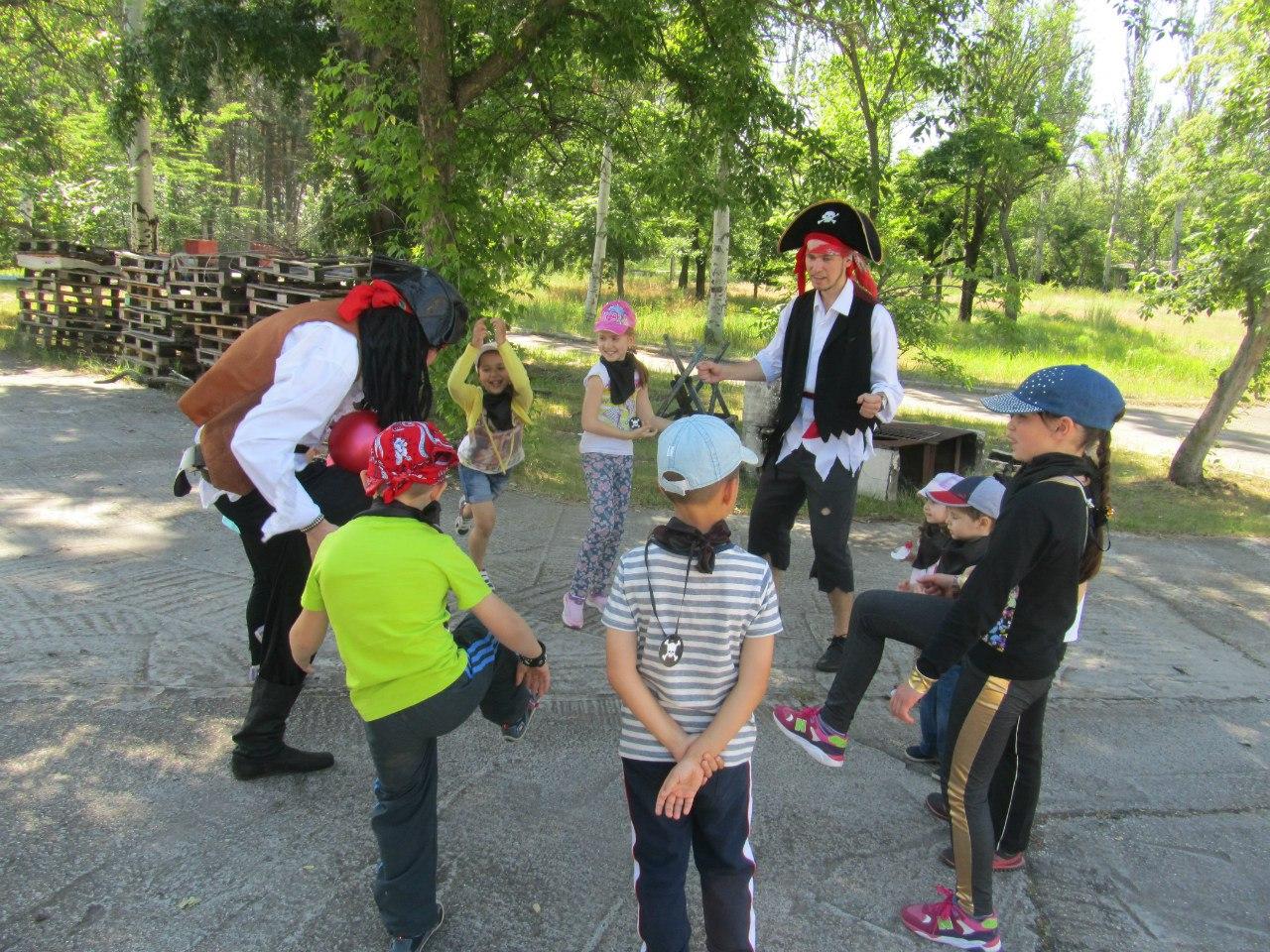 детский праздник на природе запорожье