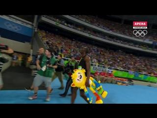 Рио-2016. финал бега на 100 метров.