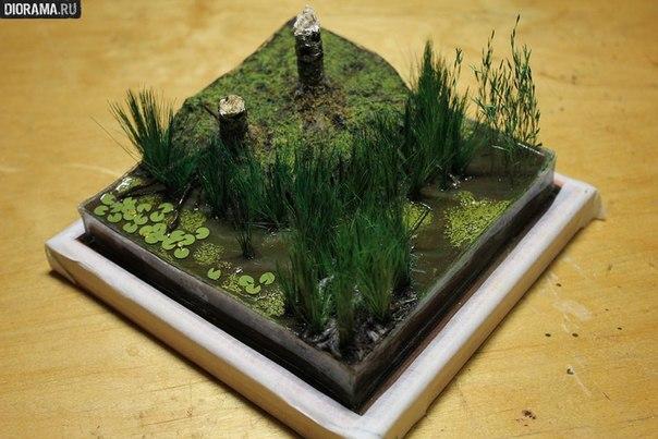 Искусственное болото как сделать