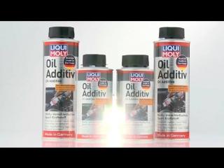 LIQUI MOLY Антифрикционная присадка с дисульфидом молибдена в моторное масло Oil Additiv