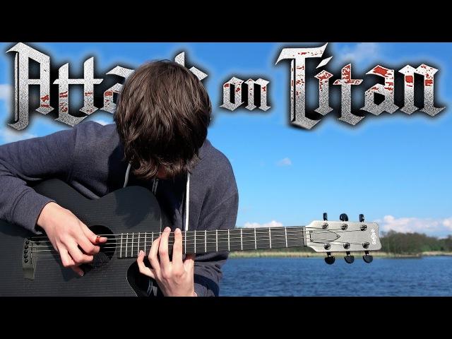 Attack on Titan S2 Opening - Shinzou wo Sasageyo! - Fingerstyle Guitar Cover - 進撃の巨人 OP3