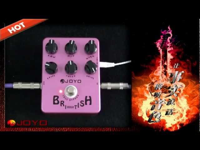 JOYO British Sound Guitar Effects Pedal (JF-16)