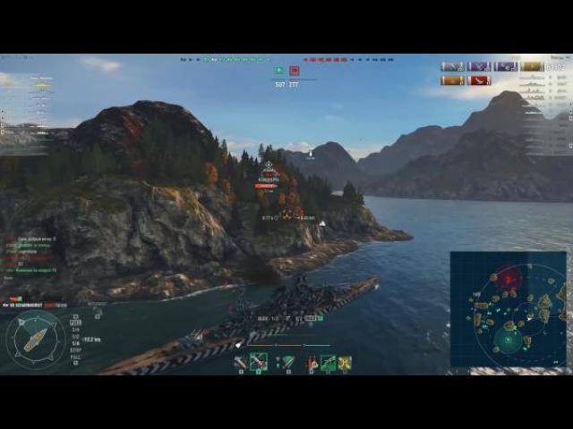 World of warships Линкор держался до последнего Z1ooo World of Warships