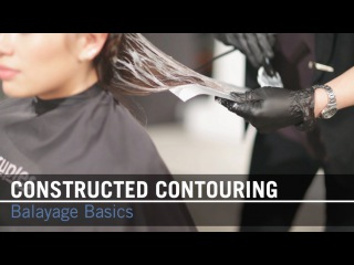 How To Balayage: Constucted Contouring Step-by-Step | Scruples Studio