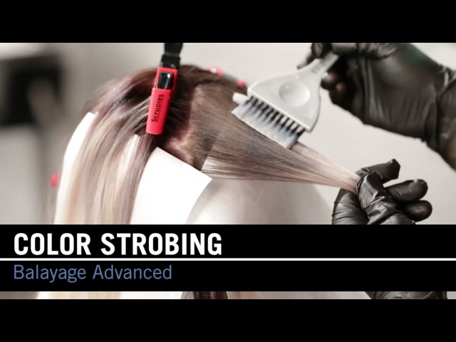 How To Balayage: Color Strobing Step-by-Step | Scruples Studio