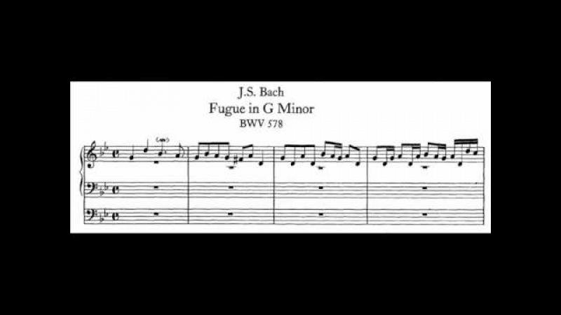 J.S. Bach - BWV 578 - Fuga g-moll / G minor