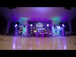 the chalenge - FDE dance school (1 place, hip hop crew, adult, rising)