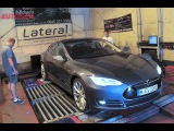 Just how much power does a Tesla Model S produce