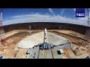 Первый пуск с космодрома Восточный отложен на сутки за 1,5 минуты до старта