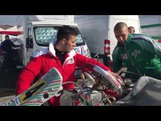 Winter Cup 2017, Lonato, KZ2 Warm-up engine