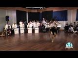 Ksenia Parkhatskaya impro with NP Big Band at HAPPY FEET SWING 2016