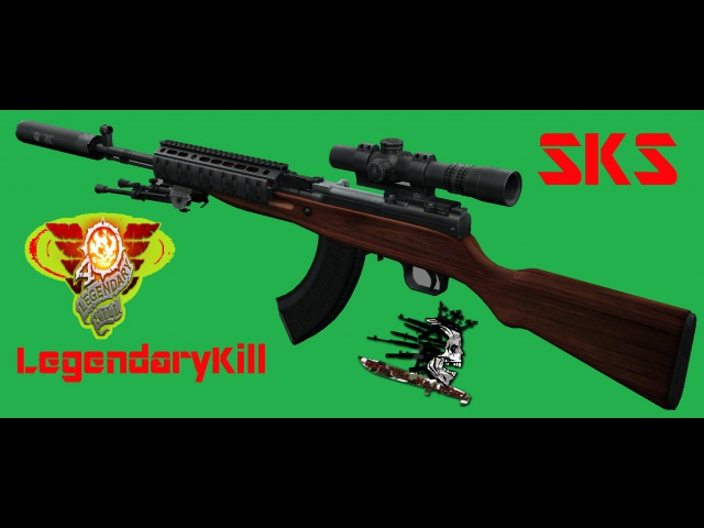 Contract Wars - SKS Full Legendarykill