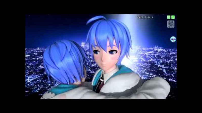 【Project DIVA AC】KAITO - Gizumo【Miku voice】