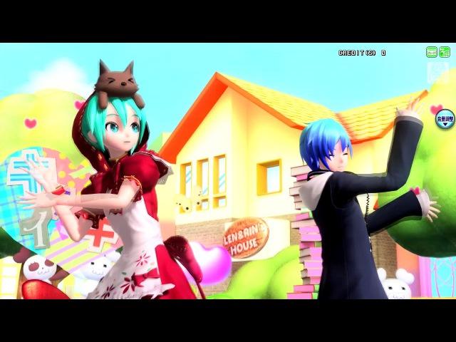 【Project DIVA AC】Hatsune Miku KAITO - Suki Kirai【Rin Len voice】