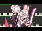 A Tale of Six Trillion Years and a Night Vocaloid Piano Duet Synthesia