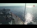 Ракеты Бала и Москита уничтожают корабли врага в Крыму кадры удара