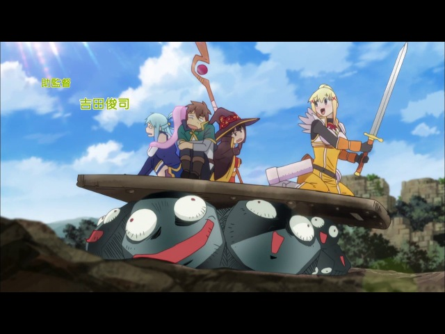 [vk.com/AnimeInMinsk] KonoSuba ТV-2 07 / Этот замечательный мир! 2 сезон 7 серия [OVERLORDS]