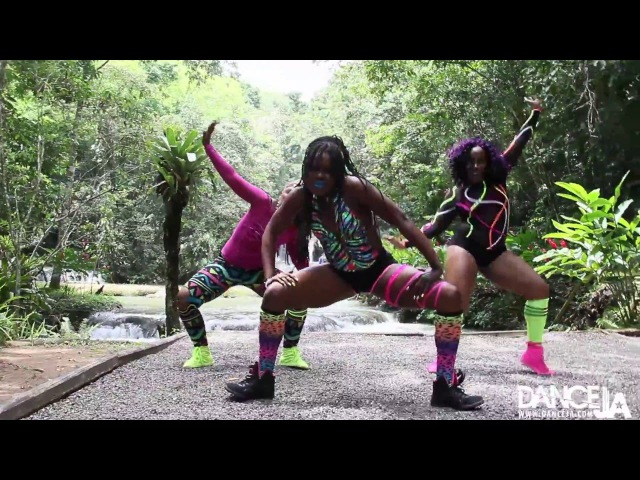 DANCEJA QUEENS - LOCK DI CITY - AUTHENTIC DANCEHALL (Versatility * Style * Fabulousness) YS FALLS