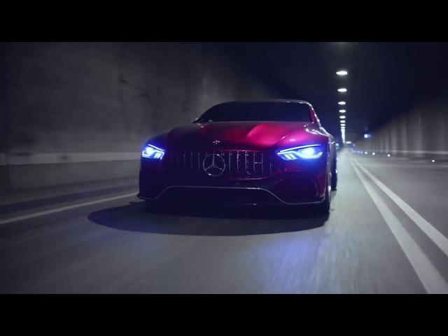 Самый красивый седан в мире выйдет в 2019. Это Mercedes AMG GT.