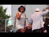 Dionne Farris w Russell Gunn Krunk Orkestra The Atlanta Jazz Festival 2014