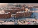 ЖК «Спортивная деревня» 24 декабря 2016 снято на DJI Phantom 4