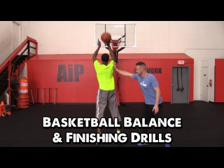 Basketball Balance & Finishing Drills (with Pat the Roc)