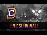 Epic survival! by DC vs Wings Gaming - ESL One Genting 2017
