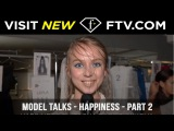 Model Talks Happiness Part Two  FTV.com