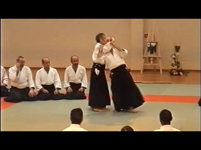 合気道 aikido 田村信喜 Nobuyoshi Tamura Shihan shiho nage irimi nage