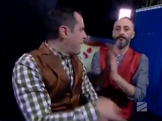 Украинские гимнасты покорили жюри грузинского телешоу