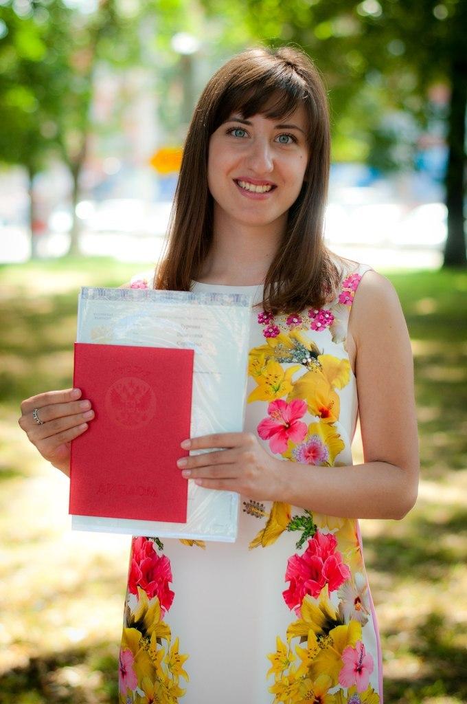 Валентина Турчина получение красного диплома Молодежный портал  было бы не совсем верно училась я всегда с удовольствием и любопытством но это не было моей главной целью Сказать что диплом достался