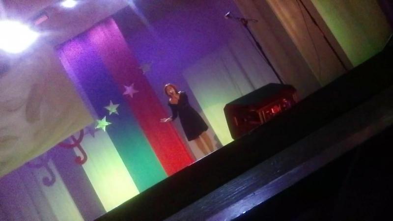 выступление Гарафутдиновой Татьяны Сергеевны
