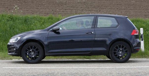 Volkswagen тестирует новый маленький кроссовер