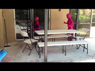 Spiderman vs Joker vs Pink Spidergirl - Zombie Attack! - w Frozen Elsa Prank - Fun Superheroes )