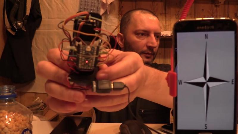 Arduino Поворотное устройство для камеры Android Bluetooth Servo Pan Tilt Лайфха