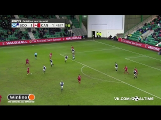 Шотландия - Канада 1:1. Обзор товарищеского матча