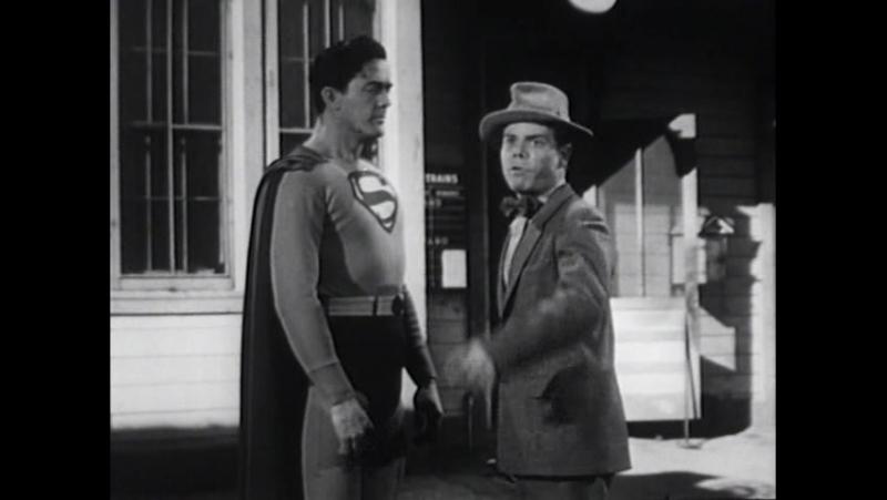 Атомный Человек против Супермена (1950) часть 10