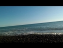 Волны на диком пляже