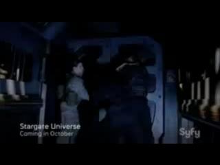 Звездные врата Вселенная/SGU Stargate Universe (2009 - 2011) ТВ-ролик №2 (сезон 1)