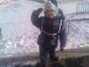 Юный альпинист. Гена бьет ступени! Мужик!