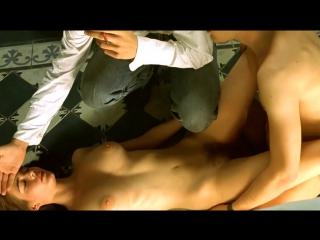(+18)Ева Грин(Eva Green)(sex scene, сцена секса, эротика, постельная сцена, раком, трах, кончил, порно)